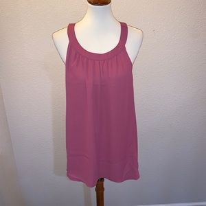 NWT torrid Size 00 or Large Mauve Tank Top